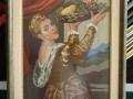 гоблен с класическа барокова рамка