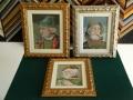 гоблени в класическа барокова рамка