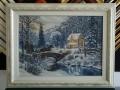 Гоблен в барокова рамка -Зима