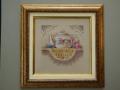 гоблен  в барокова рамка -чайник