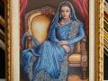 гоблен в барокова рамка - орнаментирана