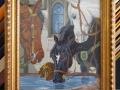 гоблен в класическа рамка - Коне на водопой