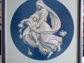 гоблен в барокова рамка - В нощта