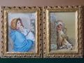 гоблени в ажурна барокова рамка