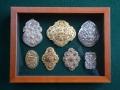 Накити в рамка кутия