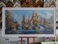 Пъзел в испанска дървена рамка рамкаDSC08362