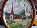 гоблен  в барокова рамка -Пролетна магия