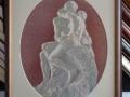 гоблен в барокова рамка - Целувката