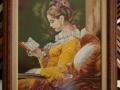 гоблен  в класическа барокова рамка