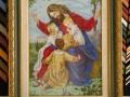 гоблен в барокова рамка-Христос