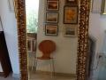 Огледало с антична барокова рамка.LED осветление.